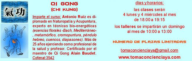 almanecer tecnicas holisticas holistica qi gong chi kung automasaje salud dao yin sevilla