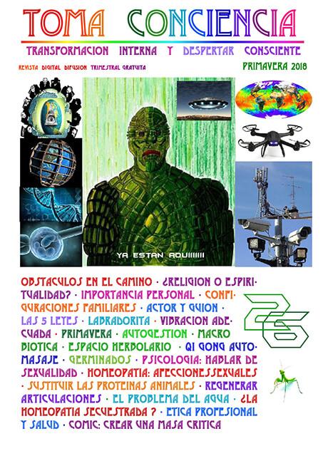 Revista Toma Conciencia numero 26